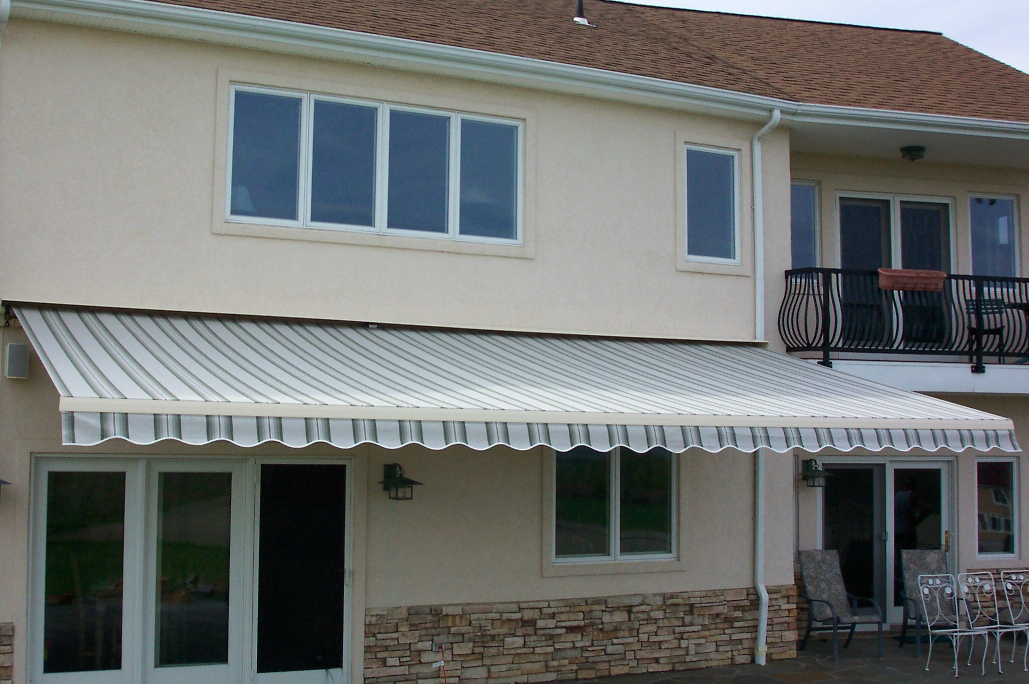 Home Depot Sunsetter Awnings : Retractable awning review